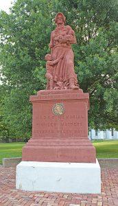 August Leimbach, Madonna of the Trail, 1928, Vandalia, Illinois